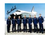 BRUCE MELNICK NASA Astronaut STS-41 & STS-49 genunie signed 10 by 8